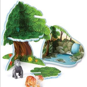🐅🦍  Learning Resources Jungle Playset  🐅🦍